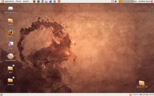 Ubuntu 8.10 Desktop