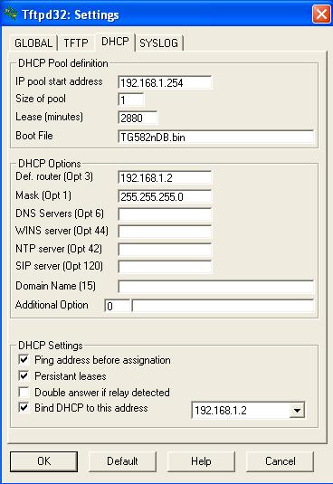 Flashing Generic Firmware on a Technicolor TG582N – JonathanDavis me uk